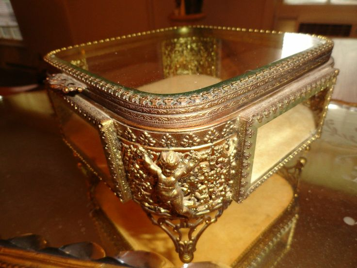 650 best BEUTYFULL JEWELRY BOX images on Pinterest Antique jewelry