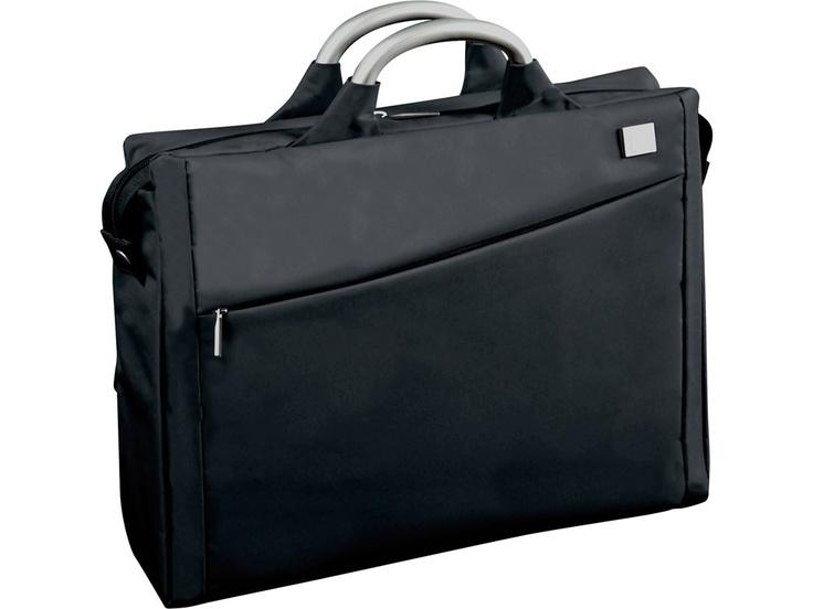 Fransız tasarım markası Lexon'dan siyah Evrak/Laptop Çantası, Airline Document Bag Black by Promart-Promotion