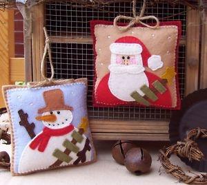 More cute little felt ornaments