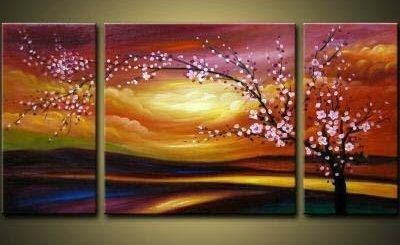 blossom flower painting