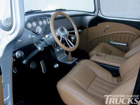 custom classic trucks magazine 39 58 car interior pinterest. Black Bedroom Furniture Sets. Home Design Ideas