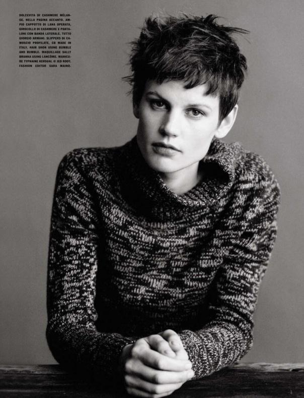 nice Vogue Itália | Editorial de Moda Junho 2013 | Saskia de Brauw por Paolo Roversi