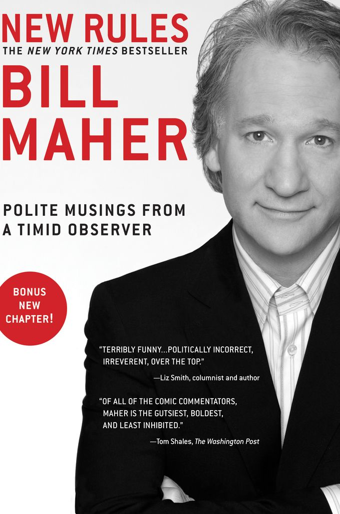 New Rules: Polite Musings from a Timid Observer on Scribd // Bill Maher is on the forefront of the new wave of comedians who influence and shape political debate through their comedy. He is best known not just for being funny, but for advocating truth over sensitivity and taking on the political establishment.