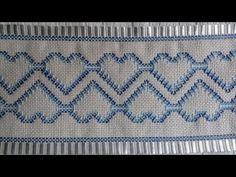 Sabor de Vida | Bordado de Toalha de Ponto Vagonite - 25 de Fevereiro de 2013 - YouTube