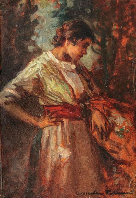 Despre cărţi, muzică, pictură şi oameni!: Pictori români - Florăresele lui Nicolae Vermont