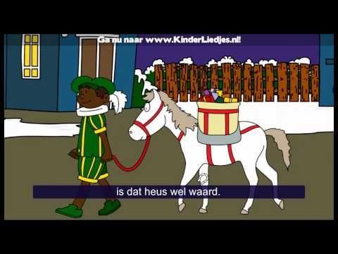 Liedjes: Sinterklaas is jarig - Sinterklaasliedjes van vroeger