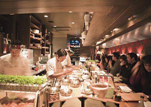 Top ten sushi spots! need to go to Nobu