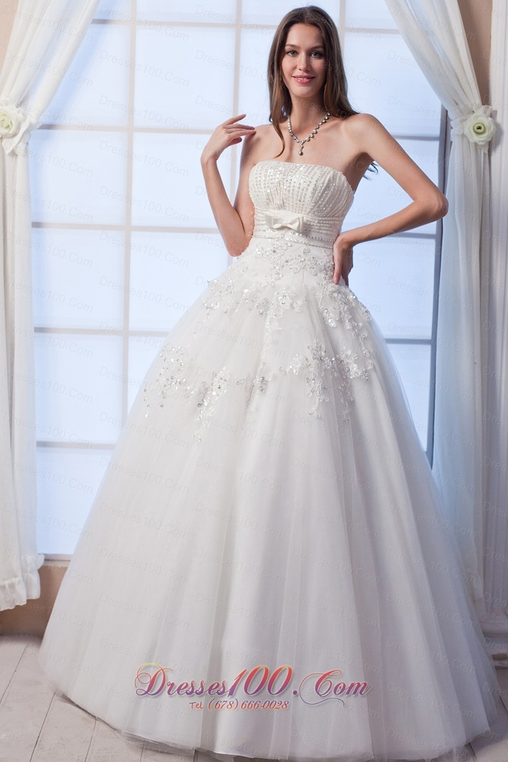 7 best customer made wedding dress in saskatoon images on best a line strapless floor lengthtulle beading and hand made flowers wedding dress ombrellifo Image collections