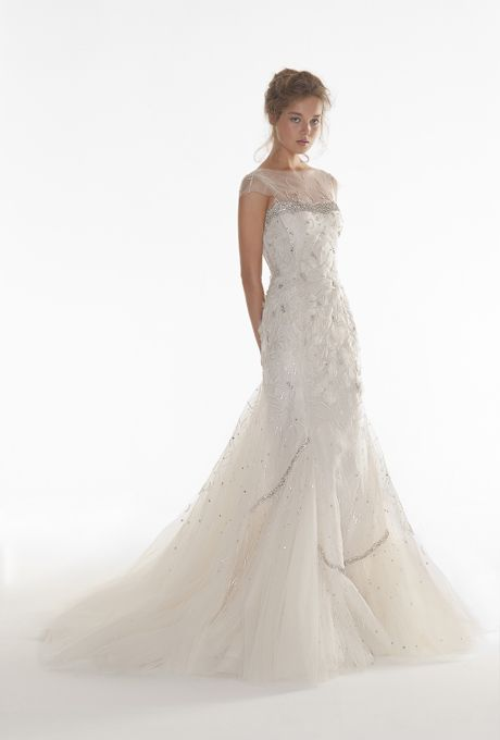 light airy and glamorous   Langner Couture - Fall 2013  |