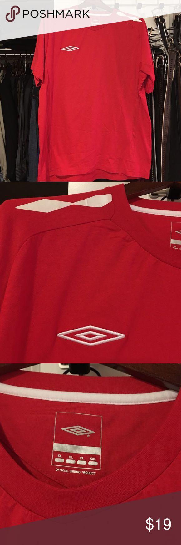 Unbro shirt Red umbro shirt new without tags cotton umbro Shirts Tees - Short Sleeve