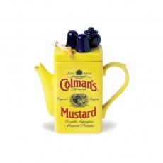 Teapottery - Coleman's Mustard Teapot