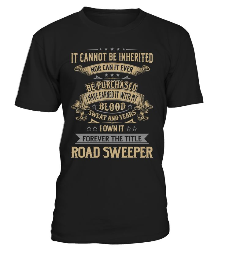Road Sweeper - I Own It Forever #RoadSweeper