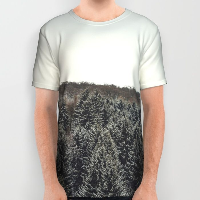 I Love You Too All Over Print Shirt by Gallery One | Society6