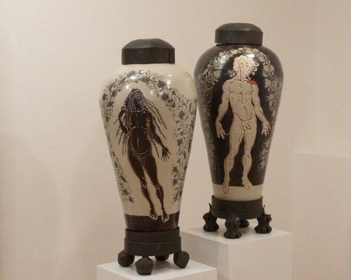 Talavera   2011   Barbara Paci Art Gallery, Pietrasanta, Italia.  #JavierMarínescultor