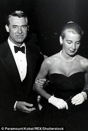 He proclaimed LSD's value to women's magazines, such as Good Housekeeping (Grant pictured with wife Betsy Drake in unknown year)