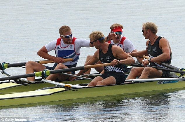 George Nash and William Satch Men's rowing pair BRONZE MEDAL