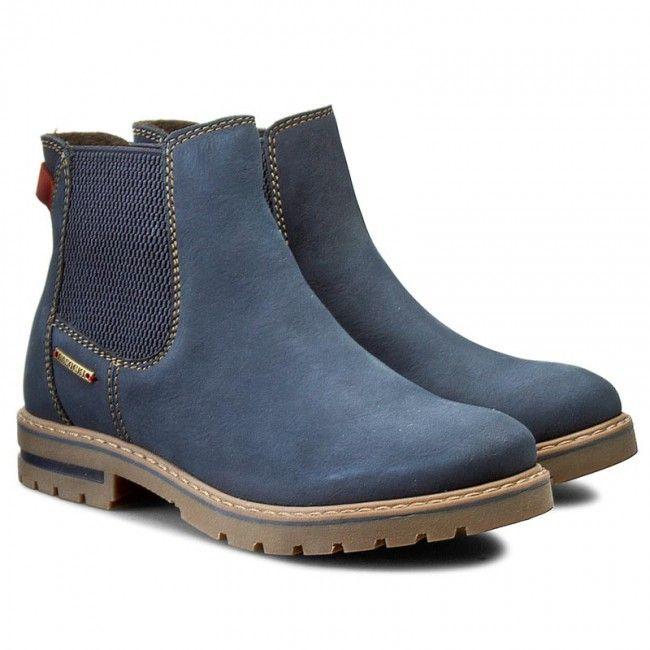 Kotníková obuv s elastickým prvkem LASOCKI - WI16-AVILA-02 Tmavomodrá