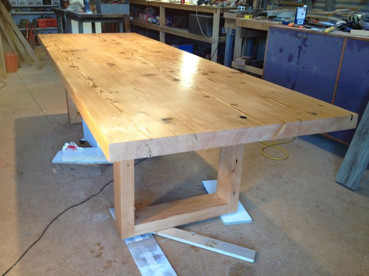 Dining Table just about completed