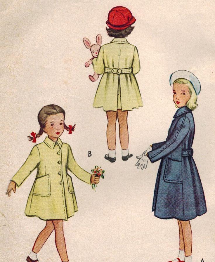 152 best Kids coats images on Pinterest | Kids coats, Vintage sewing ...
