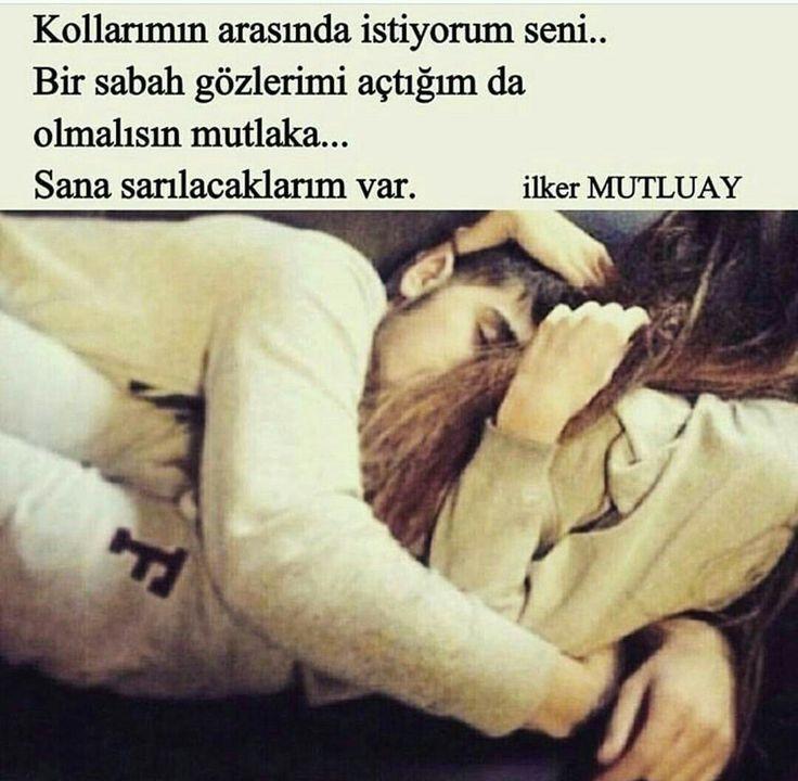 KOLLARIMIN ARASINDA İSTİYORUM SENİ...