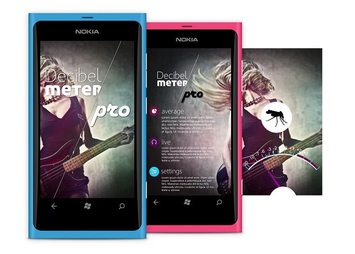 Decibel Meter app - measure the noise with your smartphone! http://www.windowsphone.com/en-us/apps/6c7ae110-5a64-e011-81d2-78e7d1fa76f8