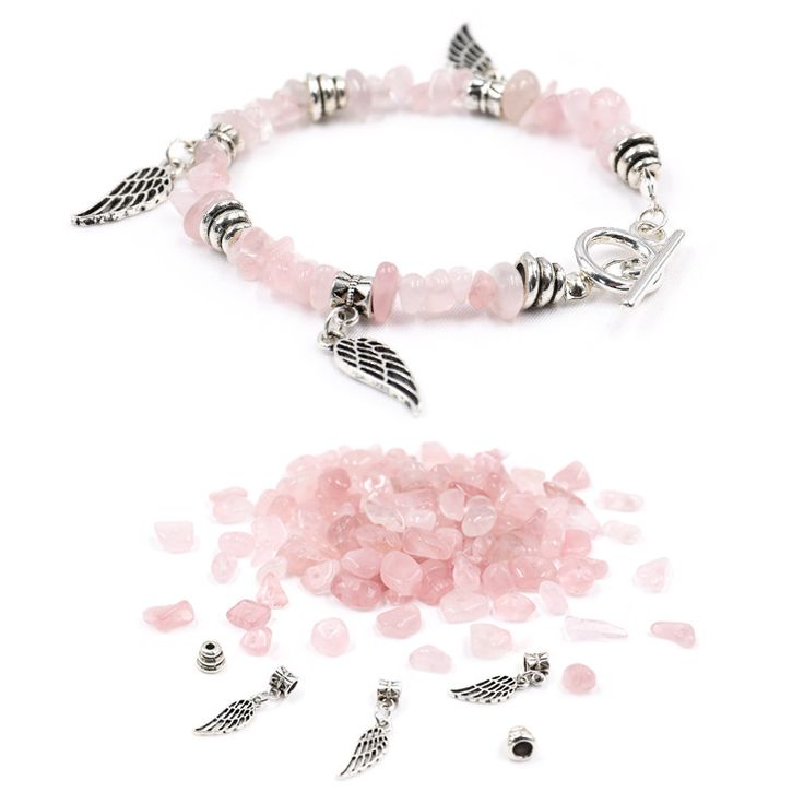 Epiphany Rose Quartz Bracelet DIY Kit