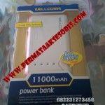 Powerbank Wellcomm 11000 mAh | Permata Aksesoris