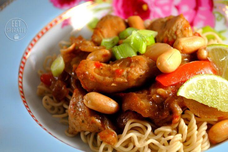 Slow cooked Thaise Kalkoen/ Slowcooker Thai Turkey