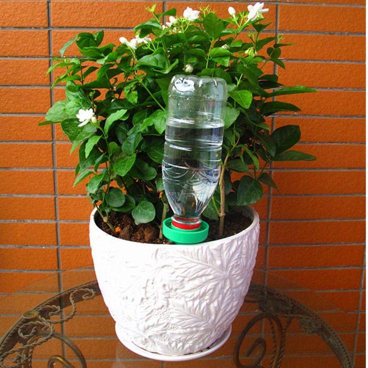 le plus bas prix 2 pcs usine fleur dirrigation en cramique automatique arrosage bouteille arrosagegoutteeau - Fabriquer Un Goutte A Goutte Avec Une Bouteille