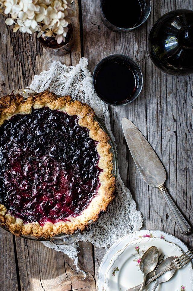 Concord Grapes & Concord Grape Pie