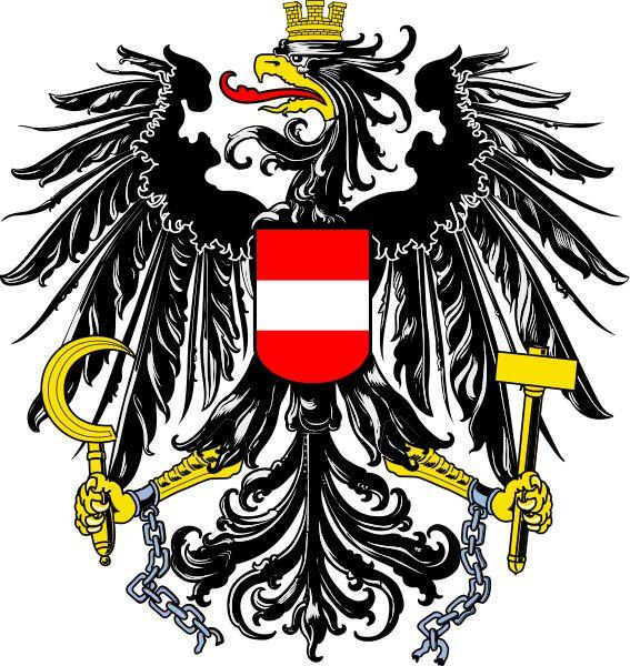 Brasão de armas: Austria