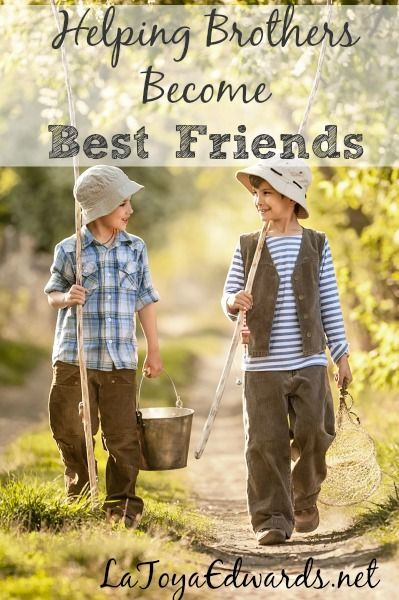 Do your children constantly fight with each other? Thank goodness it's not just my house! Sibling rivalry does not have to be the norm in your home.  Here are some ways that I'm encouraging my boys to become best friends.