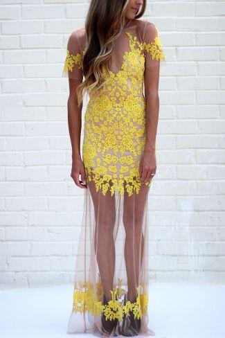 for love and lemons luau maxi dress