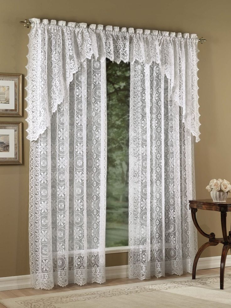 17 Best Images About Lace Curtains On Pinterest Gardens