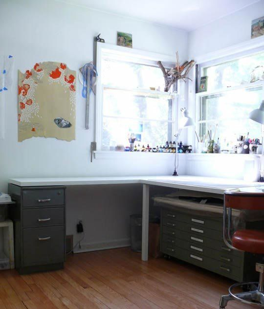 An art studio can easily get messy. Over the years, I've found that art storage supplies are key to a clean studio. However, art supply stores are not the best source for either art supplies or art supply storage…