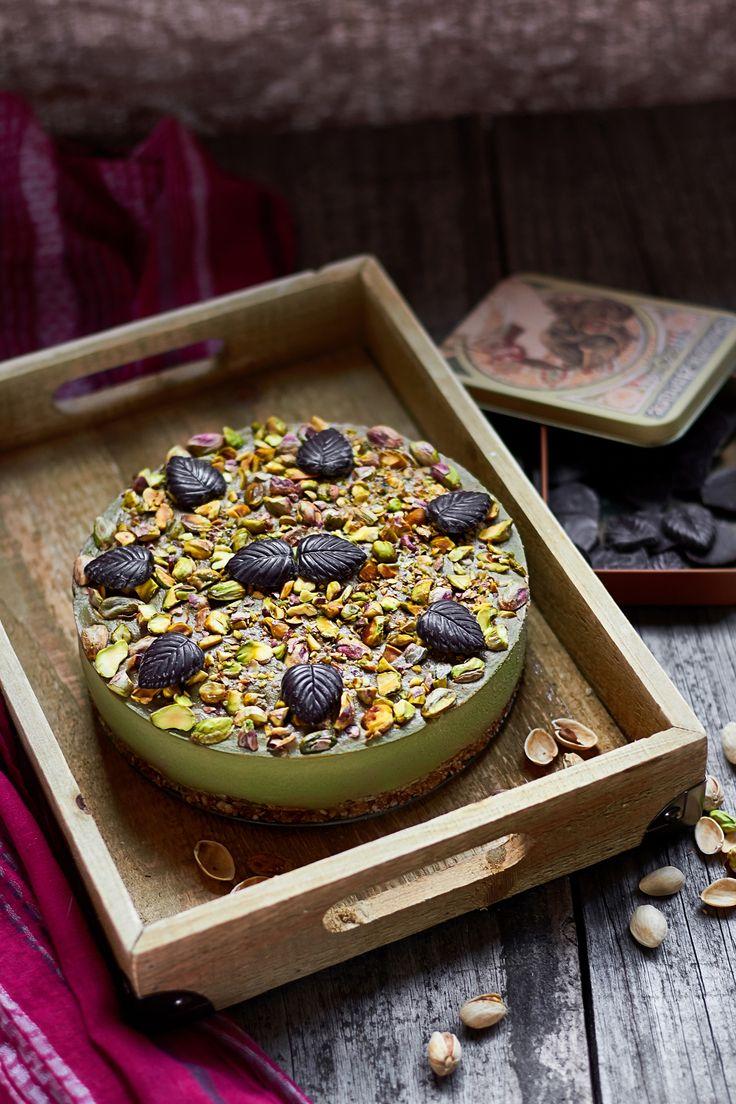 Tarta de queso vegana con té matcha receta sin gluten.. Receta de tarta vegana. Mejor receta de tarta con te matcha. Receta vegana de tarta de queso.