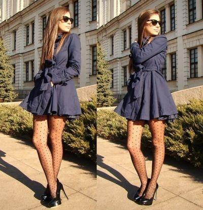 How To Wear A Dress Coat | Down Coat