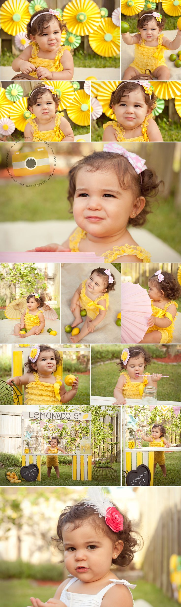 Lemonade Stand Mini Session Bianca | Miami Child Photographer, Photography