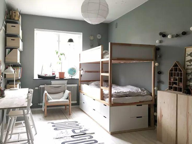Skandinavisches Schlafzimmer