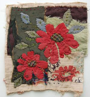 Thread and Thrift: red flowers