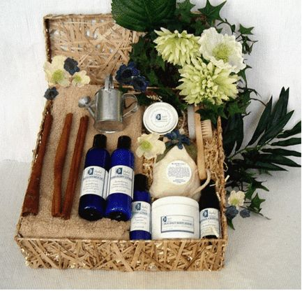 Gardener's Relief Spa Gift Basket: The joy of gardening can be tiring for your muscles and very tough on your hands. Let your body soak in a warm tub with our therapeutic sea salts and simply delight in the moment. Your hands and feet need special attention, use our sea salt scrub, deluxe pedicure set, cooling peppermint foot lotion and nourishing hand/body lotion to complete this pampering remedy.  http://www.blissfulbalance.com/gardeners-relief-spa-gift-basket/
