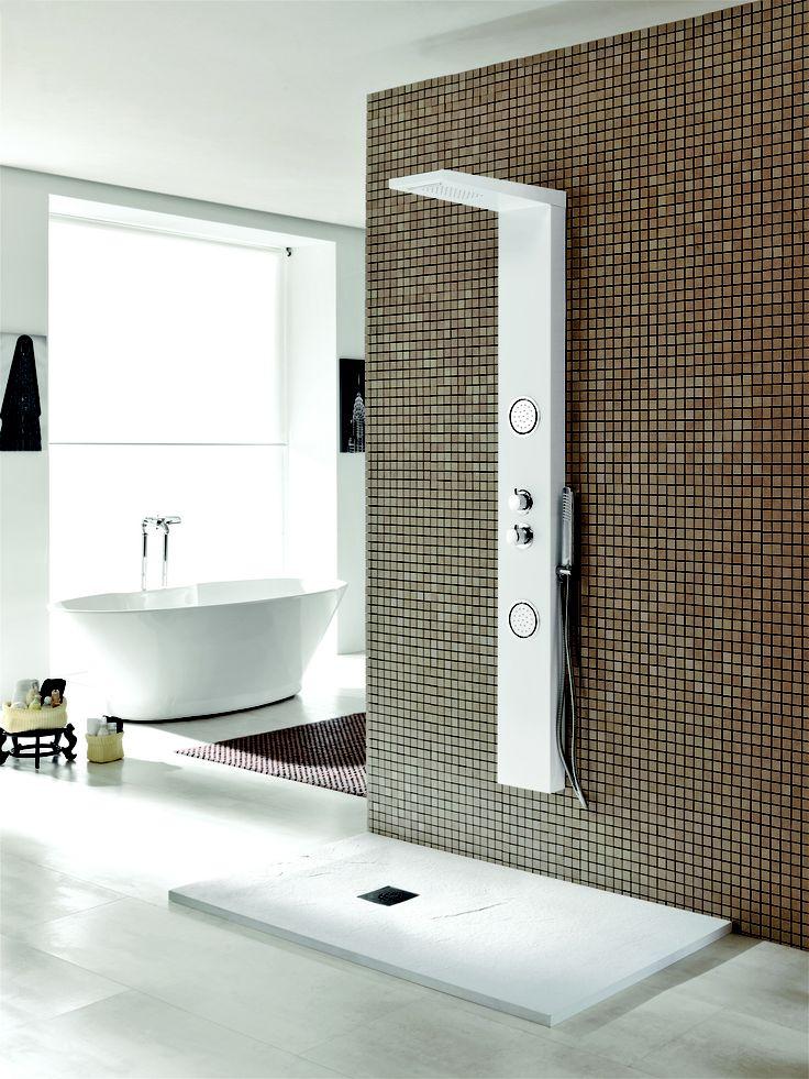 Piave shower column by Acquaidro