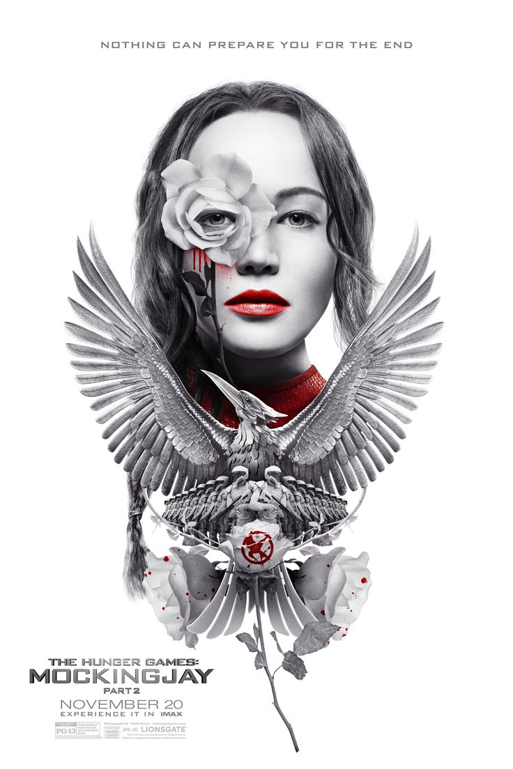 Poster for the Hunger Games Mockingjay part 2