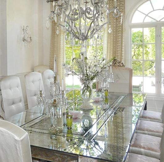 An Elegant And Sustainable Florida Home With Fantastic Views: 1000+ Images About Dining Room With PINK, Glitter Sequins