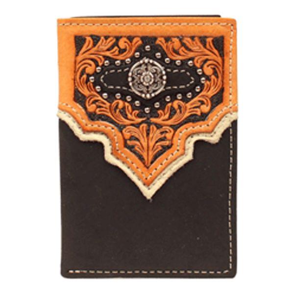 Nocona Wallet Mens Trifold N5459801