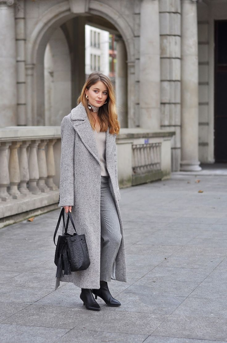 LONG BELTED COAT / CASHMERE & WOOL: PATINESS