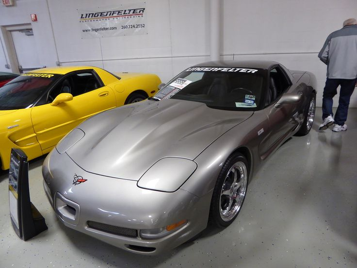 This is a 2000 Lingenfelter Corvette 427 Twin...