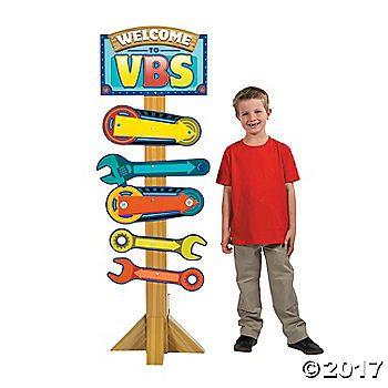 Maker Fun Factory VBS Decor Ideas