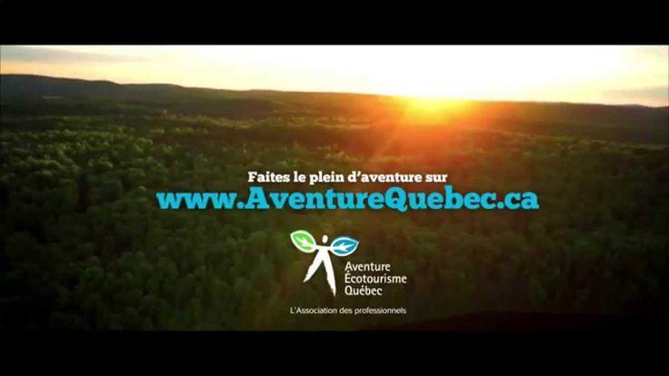 Faites le plein d'aventure au Québec avec aventurequebec.ca (HD)