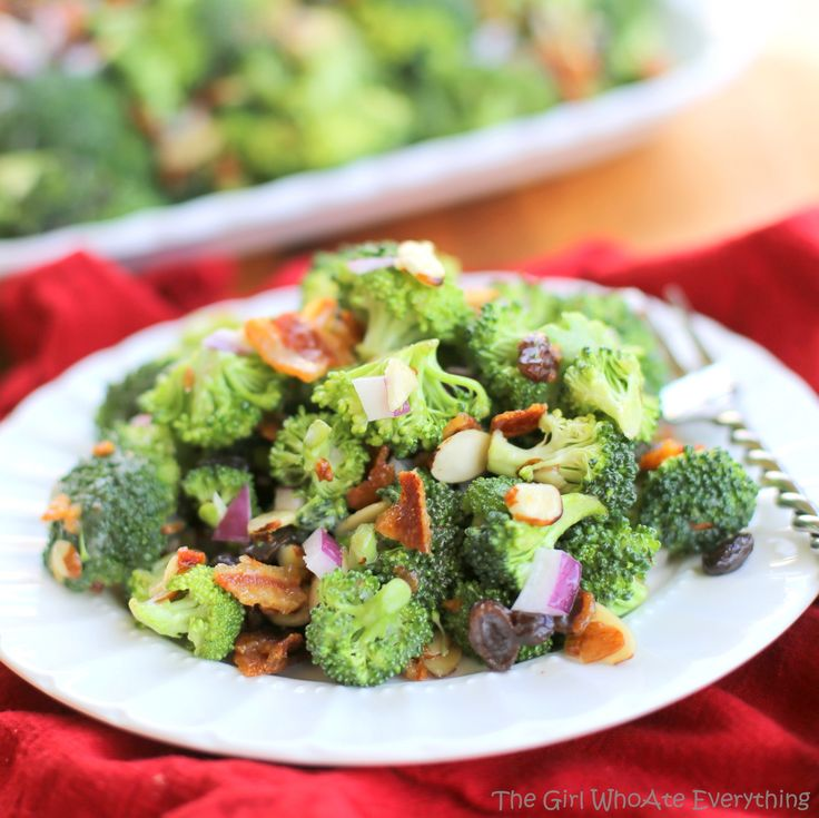 Broccoli Salade met bacon en noten